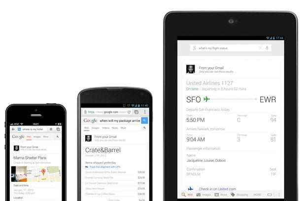 Google Now's voice query support gets ported to Google Search: ask, and you shall receive
