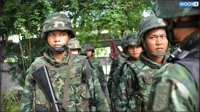 Thailand's Martial Law Could Be A Coup In All But Name