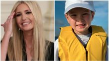 Why Ivanka Trump was called out for this photo of her son on a fishing trip