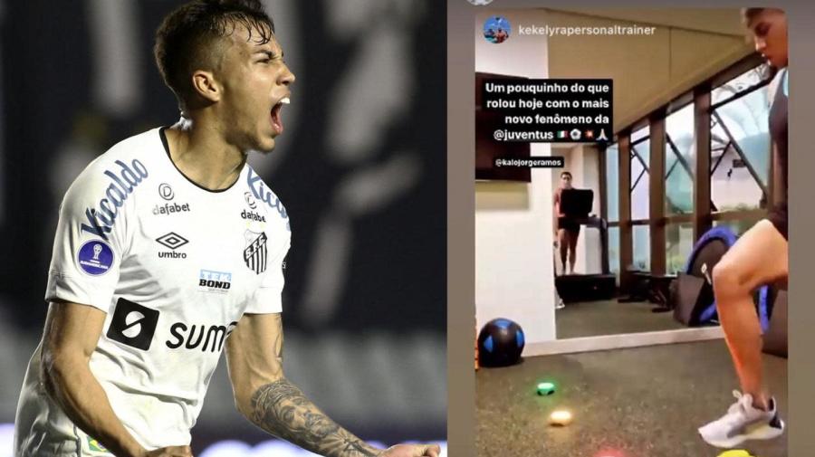 Kaio Jorge si allena col suo personal trainer: 'Il prossimo fenomeno della Juventus'