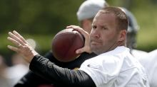 Ben Roethlisberger is back to throwing after elbow surgery