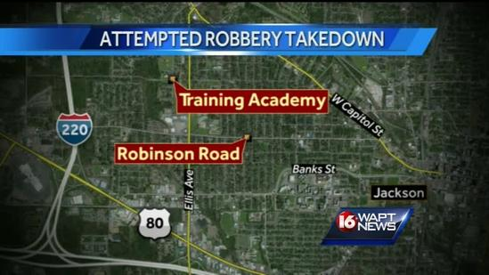 Attempted robbery foiled