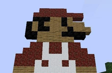 Geeks lose minds, recreate first level of Super Mario Land with 18 million Minecraft blocks