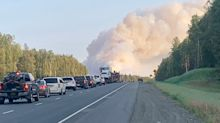 Alaska wildfires sparked by high winds force mandatory evacuations