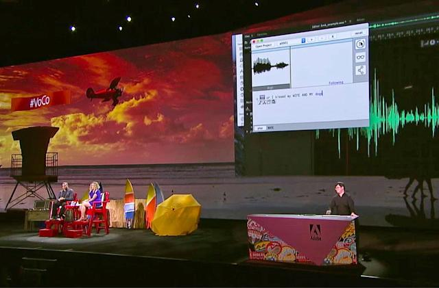Adobe experiment slips new words into your voice recordings