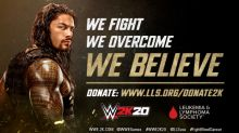 2K Announces Global Partnership for WWE® 2K20 with The Leukemia & Lymphoma Society®