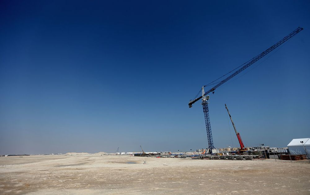 Work begins on Qatar 2022 World Cup final stadium