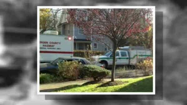 Why was a NJ doctor stockpiling weapons, dangerous chemicals?