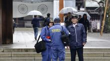 China urges Japan to ensure rights of 2 in shrine protest