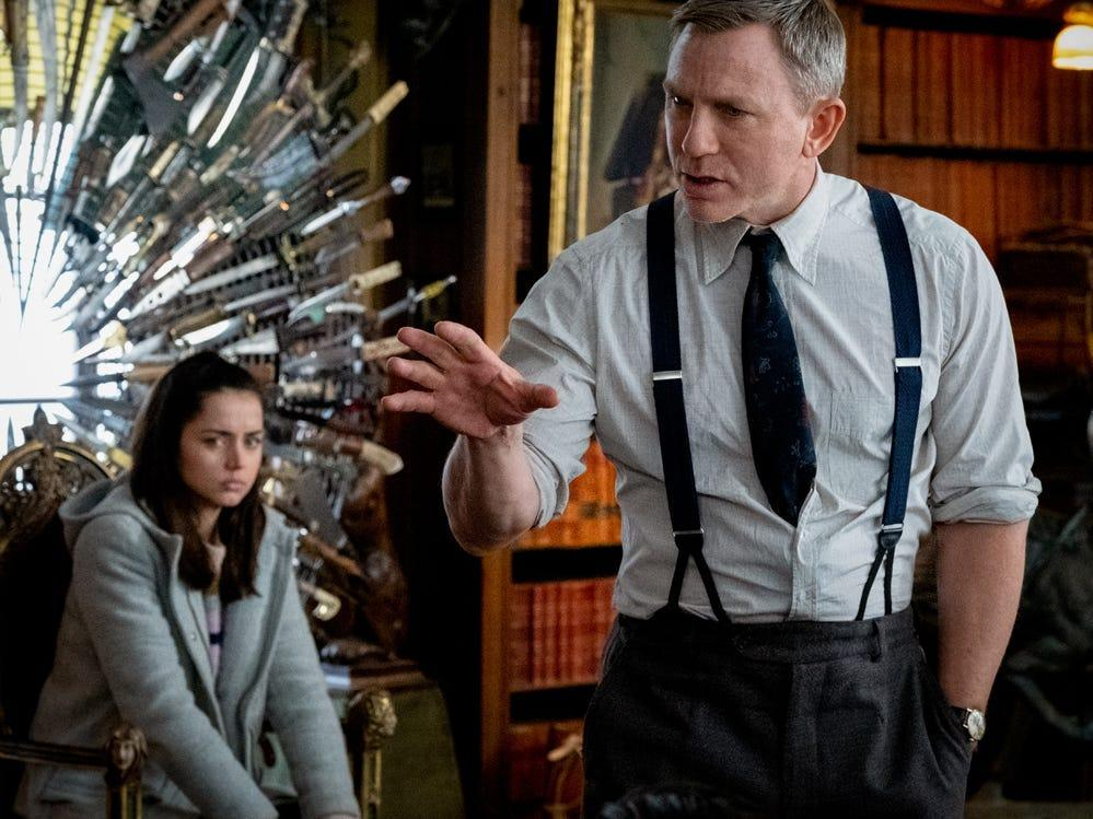 'Knives Out' director Rian Johnson and star Daniel Craig ...
