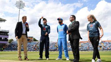 England vs India ODI: live score and latest updates
