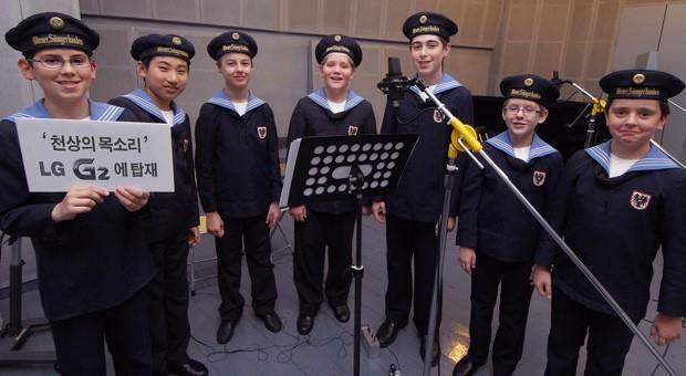 LG G2 to include ringtones from the Vienna Boys' Choir... yes, really