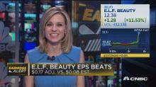 ELF beats earnings, revenue expectations