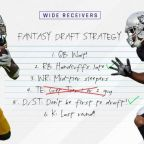2017 Fantasy Football Rankings Tiers: Wide receiver draft strategy