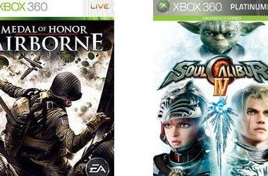 Games on Demand: Medal of Honor Airborne, SoulCalibur IV