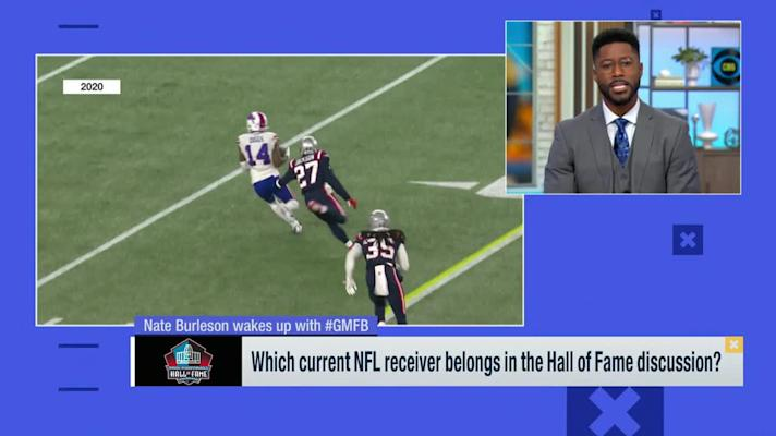 Nate Burleson wakes up with 'GMFB,' weighs in on Week 7 NFL storylines