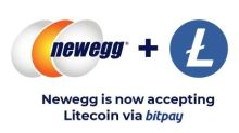 Newegg to Become First Major E-Retailer to Accept Litecoin on BitPay