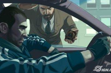 GTA IV trailer incoming, here's some art for now