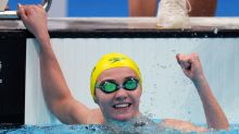 Olympics-Swimming-Titmus downs Ledecky again, Milak gold in 200 fly