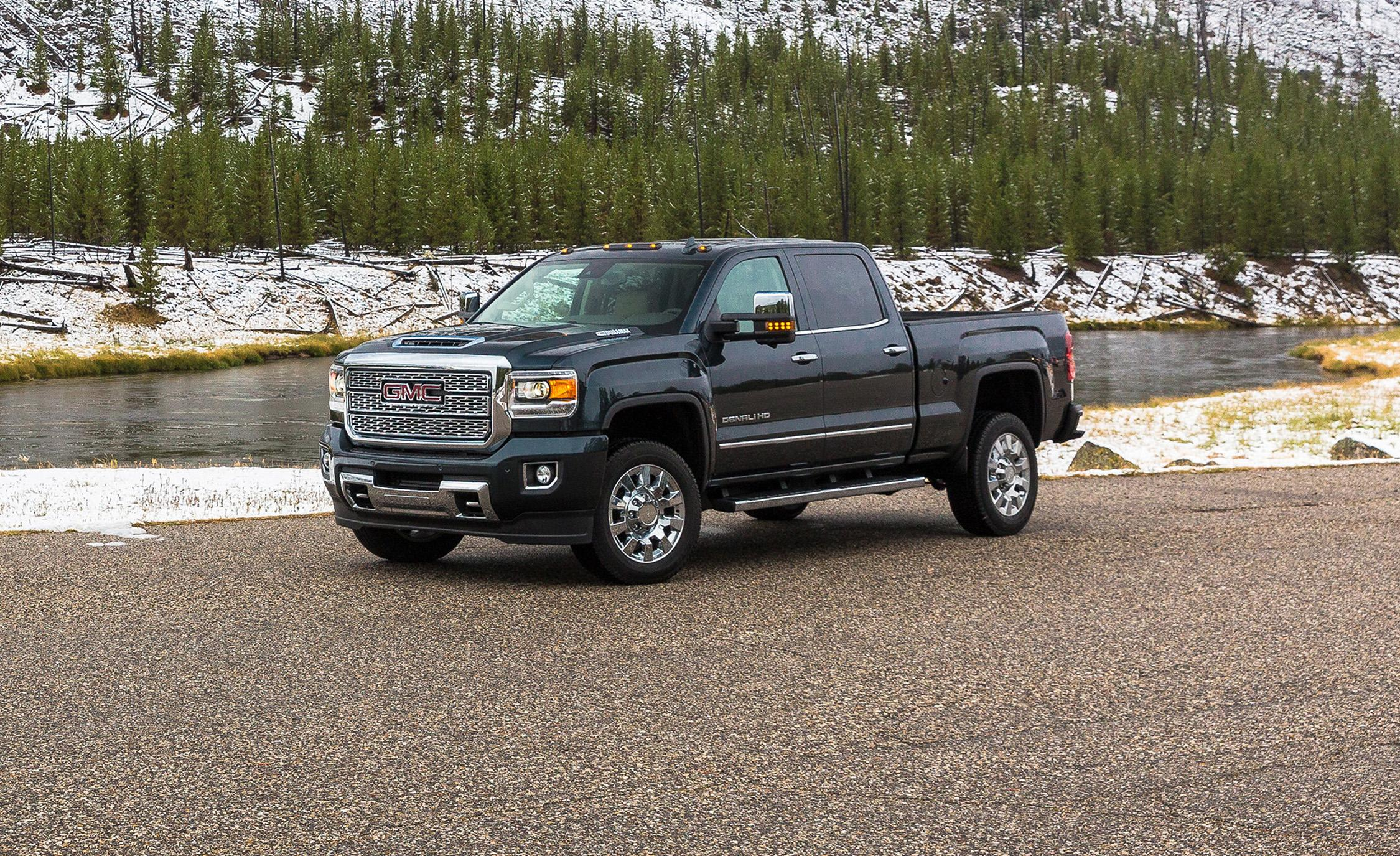 Gmc Sierra    Car And Driver