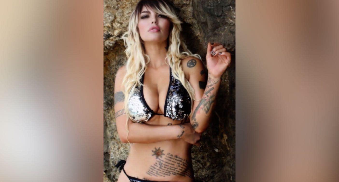 Angie Jibaja angie jibaja, con sus tatuajes y en bikini, de vuelta a perú