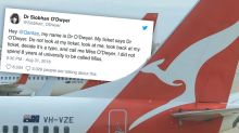 Woman slams Qantas for calling her 'Miss' instead of 'Doctor'