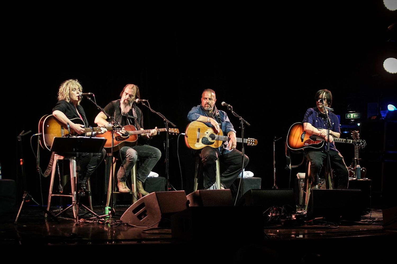 Hear Steve Earle Lead All-Star Guitar Pull in 'This Land Is Your Land'