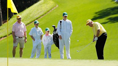 Masters scraps par 3 contest, adds split tees