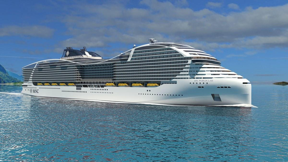 The World's Largest Cruise Ship is Like a Floating Island