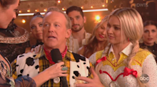 Sean Spicer overcome with emotions after 'DWTS' performance dedicated to late father