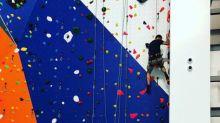 Escalade - Le plus grand mur d'escalade de France a ouvert ses portes à Mulhouse