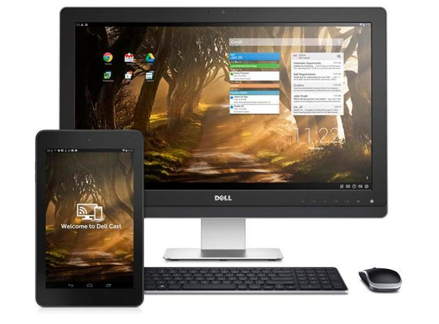 Dell's new stick lets you share your tablet's screen with bigger displays