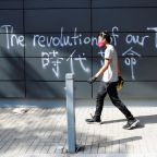 Holdouts on Hong Kong campus, surrounded by police, face dwindling options