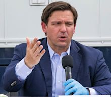Gov. Ron DeSantis had trouble voting because someone had falsely submitted a change of address under his name