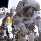 Failed computer replaced during U.S. astronauts' spacewalk