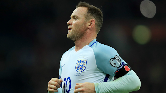 Southgate not ruling out a Rooney England comeback
