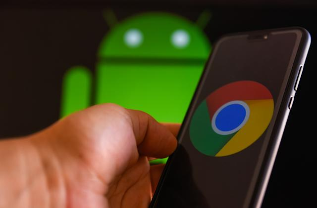 Chrome for Android lets you preview web links