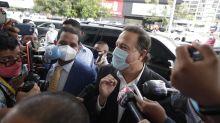 La Fiscalía prohíbe salir de Panamá al expresidente Martinelli