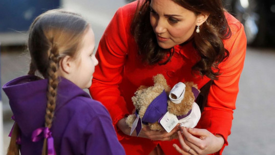Princess Kate keeps Diana's legacy alive with visit to children's hospital