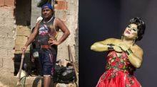 Conheça o jovem que de dia é pedreiro e à noite drag queen: 'Evolução como ser humano'