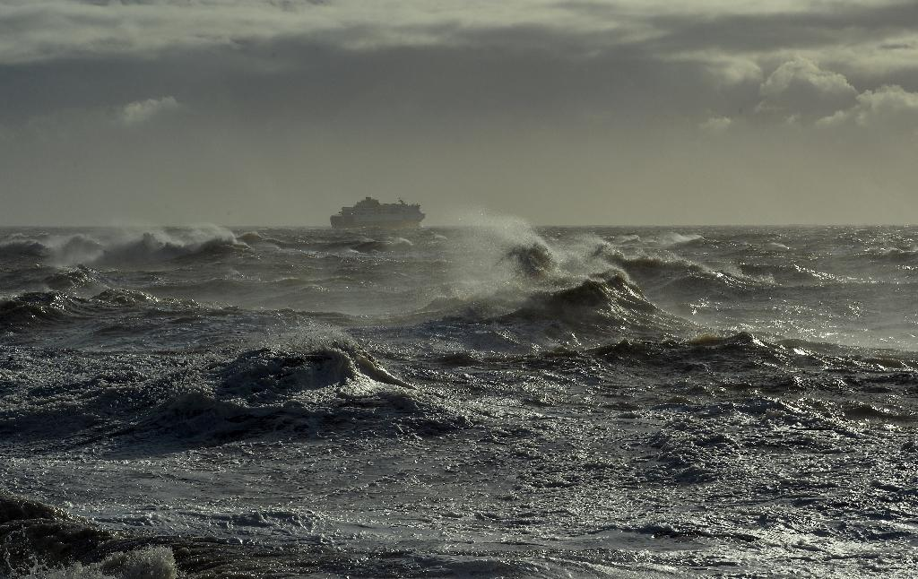 Britain and Ireland braced for a lashing from Ophelia, the largest hurricane ever recorded so far east in the Atlantic Ocean, after it dumped heavy rains on Portugal's Azores islands (AFP Photo/GLYN KIRK)