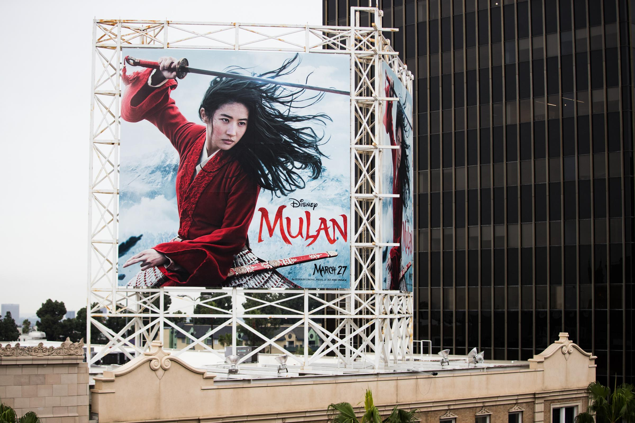 Disney's 'Mulan' will look to Christopher Nolan's 'Tenet' as a movie theater health test