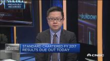 Standard Chartered Bank's 2017 profit jumps; shares up close to 3 percent