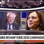 2020 presidential hopefuls Bernie Sanders and Kamala Harris revamp their campaigns