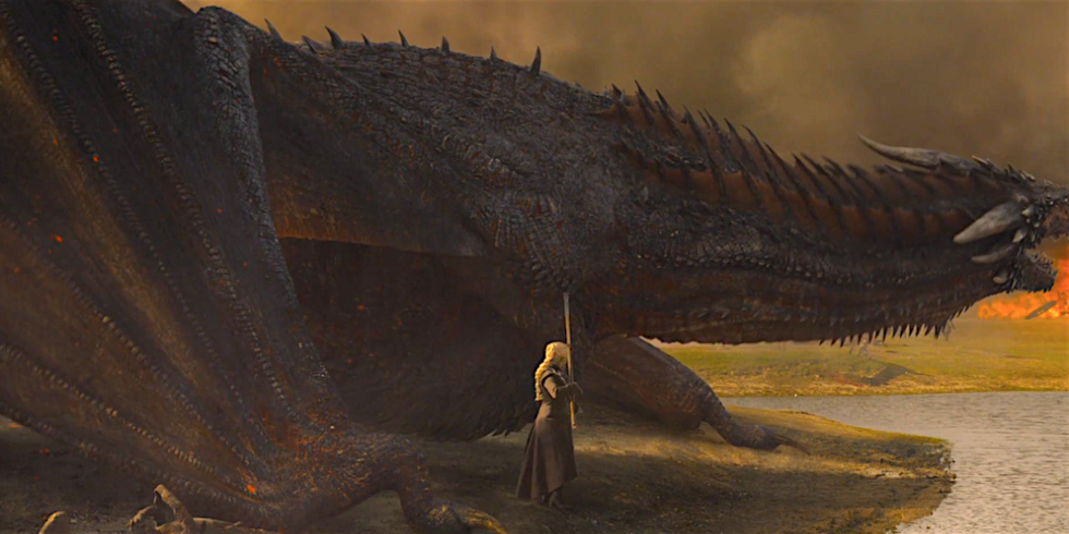 'Game of Thrones' Fans Noticed Some Concerning Details About Daenerys's Dragon