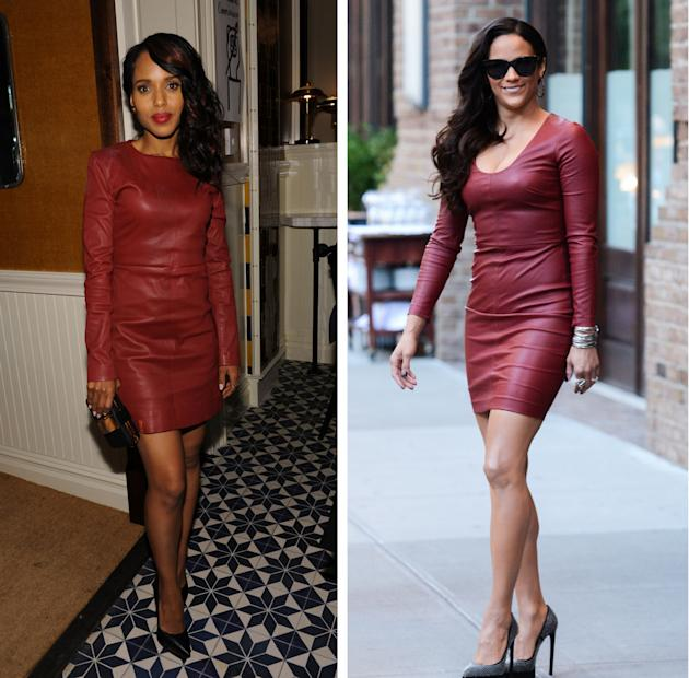 Red hot alert! Paula Patton and Kerry Washington definitely know how to set  the red carpet on fire with their style.
