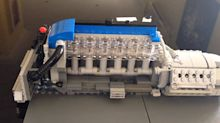 Ford Falcon fan Builds Functional Lego 4.0-Liter I6 Turbo Engine