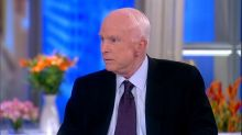 McCain blasts Vietnam War 'bone spur' deferments, says it wasn't a swipe at Trump