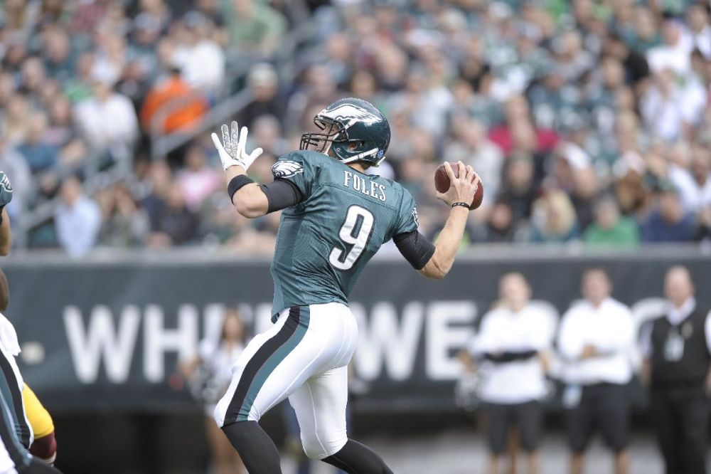 Eagles QB Foles named starter for rest of season