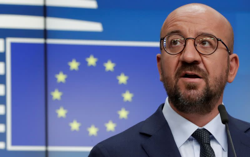 FILE PHOTO: European Council President Charles Michel